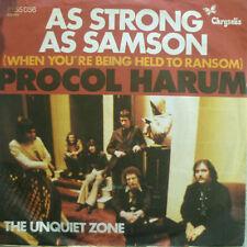 """7"""" 1974 RARE! Procol Harum: as strong as Samson/VG + + \"""