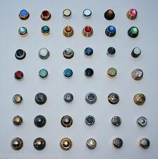 UFO orrecguitarparts bottone per Strat ORO diversi intarsi CUSTOM order orrecguitarparts Bottoni Knob