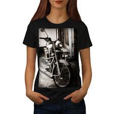 Old Retro Motorbike Women T-shirt S-2XL NEW | Wellcoda