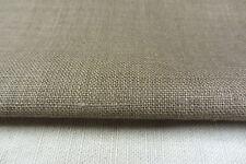 Galaxy Brown Linen Curtain/Craft Fabric