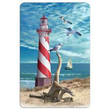 Lighthouse Seashore Ocean Beach Seagulls Sailboat Home Business Office Sign