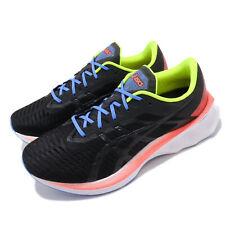 Asics Novablast Black Volt Orange Mens Cushion Road Running Shoes 1011A681-001