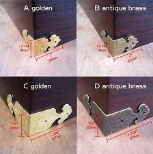 12pcs Jewelry Chest Wine Gift Box Wood Table Desk Corner Edge Protector Decor