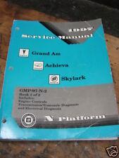 1997 GRAND AM,  ACHIEVA, SKYLARK  service manual BOOK#2