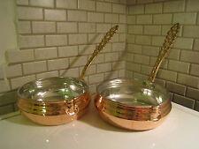 Turkish Traditional Handmade Saucepan Cezve With Brass Handle Ibrik Pot Cookware