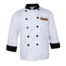 Five Star Manches Courtes Chef Veste disponible couleurs différentes pour unisexe.