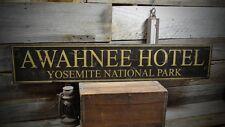 Custom Hotel National Park Sign - Rustic Hand Made Vintage Wooden ENS1000310
