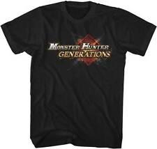 Monster Hunter Generations Logo Capcom Video Game Adult T Shirt