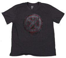 Marvel Comics Gray Captain America Tee NTD Apparel T-Shirt Made in Bangladesh