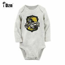 hufflepuff Newborn Jumpsuit Unisex Baby Long Sleeve Romper Bodysuit Clothes Sets