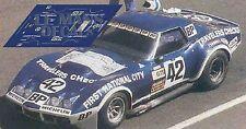 Calcas Chevrolet Corvette C3 L88 Le Mans 1975 42 1:32 1:43 1:24 1:18 decals