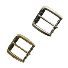 "Heavy Duty Belt Buckle Antique Roller Buckle fits 1-1/2"" (38mm) Wide Strap"