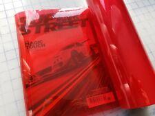 Red Headlight / Fog light Tint / Film Wrap Vinyl