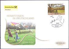 BRD 2012: Herbstferien! Post-FDC der Nr. 2953 mit dem Berliner Sonderstempel! 1A