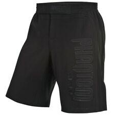 """MMA Fight Shorts """"SHADOW"""" BLACK de fantôme"""