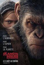 PLANETE DES SINGES SUPREMATIE Affiche Cinéma Originale French Movie Poster