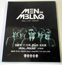 MBLAQ - Men In MBLAQ : 2011 Live Concert Photo Book (Photobook+Making DVD)