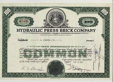 Hydraulic Press Brick Haydite Indianapolis Brooklyn In / 2 Beer Vignette