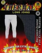 4 Mens THERMAL Long Johns Pants Trousers WINTER Ski Underwear / S M L XL XXL