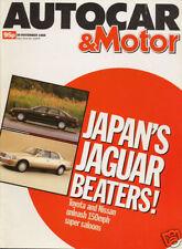 Autocar Mag Nov 88 - Ford Cosworth Tuning, Rover 820SE,