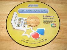 Kids Cam Sticker Factory PC CD-ROM 2006 Sakar International for Windows 98/Me/XP
