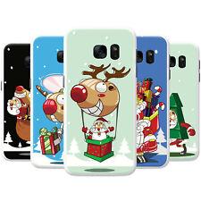 Santa Reindeer Christmas Fun & Frolics Hard Case Phone Cover for Motorola Phones