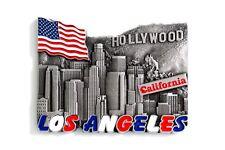 Unique Metal Fridge Magnet Souvenir Gift from Worlds Best Cities Collectables LA