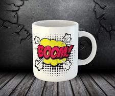 Boom Shock Bang Funny Joke Tea Coffee Cup Mug