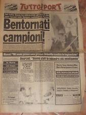 TUTTOSPORT 13 LUGLIO 1982 ITALIA CAMPIONE DEL MONDO @@