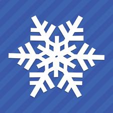 Snowflake Vinyl Decal Sticker