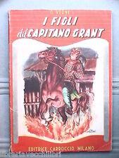 I FIGLI DEL CAPITANO GRANT Giulio Verne Carroccio Serie rosa 221 Narrativa Libro