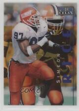 1996 Pro Line Cels #PC20 Simeon Rice Illinois Fighting Illini Football Card