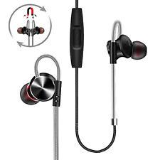 Metal Stereo Headphone Bass Earphone Sport Headset Hands Free Earbuds With Mic