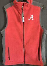 University of Alabama Mens Crimson and Charcoal Gray Vest