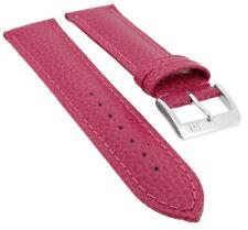 Ladies Street Collection Ersatzband Uhrenarmband Kalbsleder Band Rot 24458S