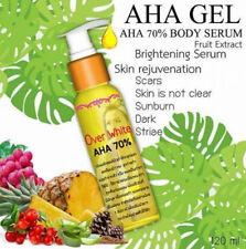120ml Over White AHA 70% Pineapple Body Serum Remove Dark Skin Lightening Bleach