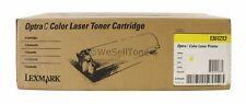 Lexmark 1361213 Yellow Toner Cartridge Optra C Genuine New