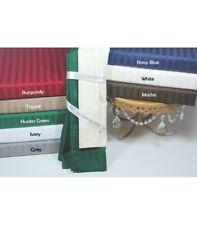 Super Soft 7 PC Bedding Set 1000TC Egyptian Cotton UK Double Only Striped Colors