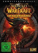 World of Warcraft-Cataclysm erweiterungsset (PC) artículo nuevo New cartón