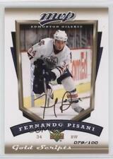 2006 Upper Deck MVP Gold Script #114 Fernando Pisani Edmonton Oilers Hockey Card
