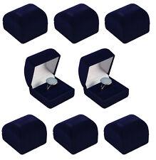 Luxury Velvet Engagement Wedding Ring Boxes Jewellery Gift Presentation Storage