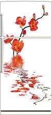 Sticker frigo fleur Orchidée 70x170cm réf 511