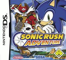 Sonic Rush Adventure -- Pyramide Software (Nintendo DS, 2008)