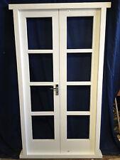 Original Hardwood French Doors hung in Hardwood Frame - made to measure!!!