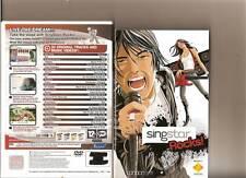 SINGSTAR ROCKS PS2 PLAYSTATION 2 RARO PS 2 KARAOKE