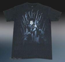 New Jimi Hendrix Guitar Throne Black Men's Vintage T-Shirt