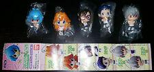 Portachiavi Neon Genesis Evangelion School Collection Bandai Asoka Rei Shinji