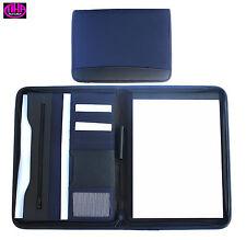 Schreibmappe A4 mit Reißverschluss, erhältlich in 3 Farben - von FIHA-Promotion