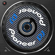PIONEER DJ CARBON FIBRE XDJ-RX  XDJ RX JOG / SLIPMAT GRAPHICS / STICKERS CDJ DJM