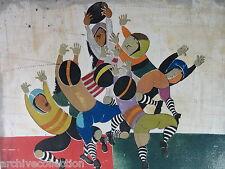 "Graciela Rodo Boulanger "" Rugby "" Original Etching Artwork S/N"